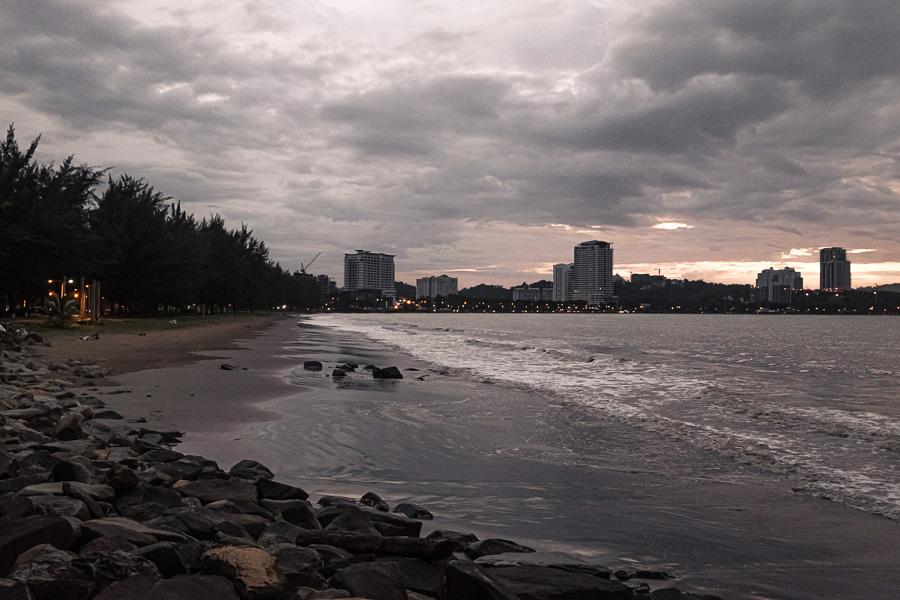 Kota Kinabalu beach Sabah Malaysia