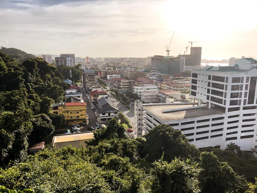 Kota Kinabalu city view Sabah Malaysia