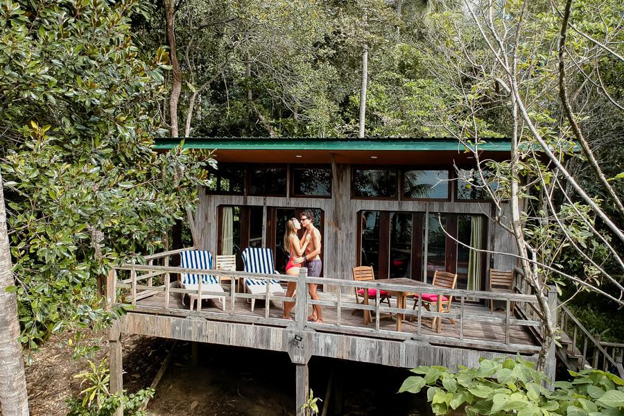 Romance at Hibiscus Tree Top Tip of Borneo Sabah Malaysia