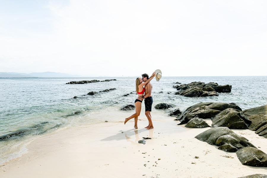 Romance on Mamutik Island Sabah Malaysia