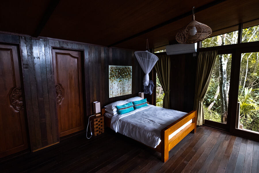 Sleeping well at Hibiscus Retreat Tip of Borneo Sabah Malaysia