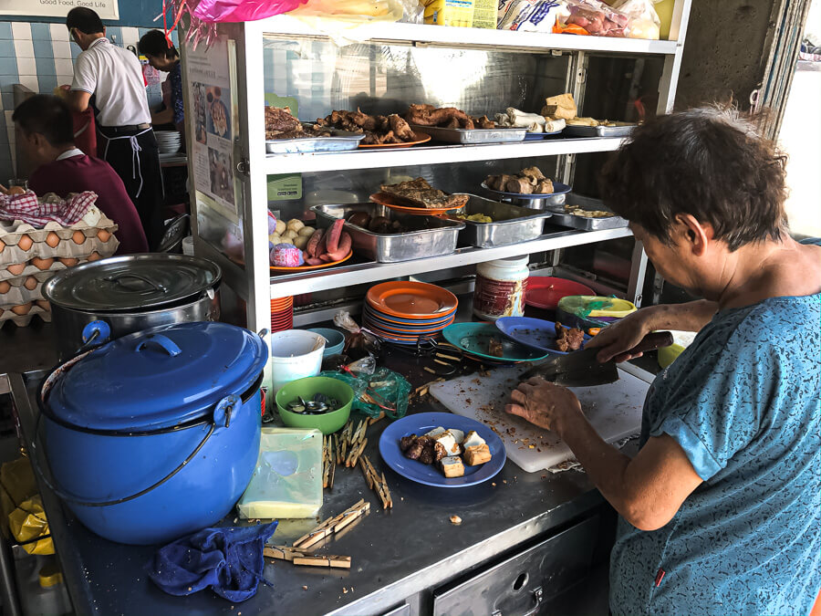 Street food vendor George Town Malaysia