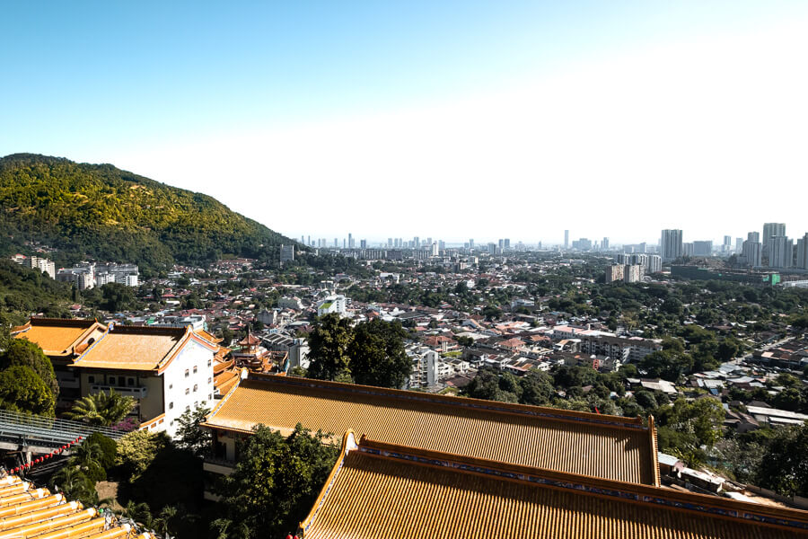 View from Penang Hill George Town Malaysia