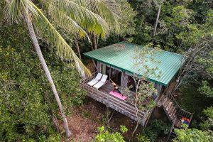 Yoga at Hibiscus Tree Top Sabah Malaysia