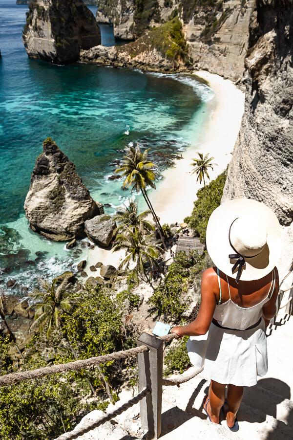 Diamond Beach Island life Nusa Penida