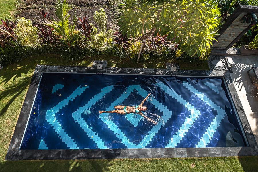 Guesthouse Bali Manik pool Canggu Bali