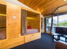 Hotel guide New Zealand Sir Cedrics Tahuna hotels Queenstown