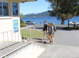 Hotel guide New Zealand Te Anou Lakefront Backpackers