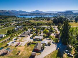Hotel guide New Zealand Wanaka Kiwi Holiday Park Wanaka