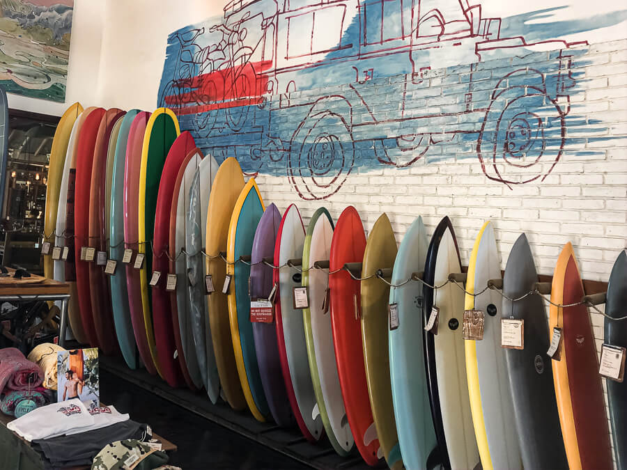 Surf shop Deus Ex Machina Travel Guide Canggu Bali