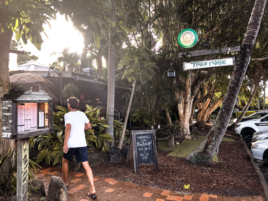Best cafes Byron Bay Tree house