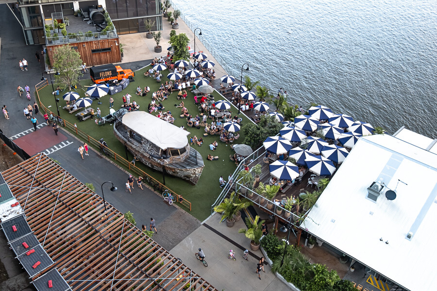 Friday drinks Brisbane travel guide