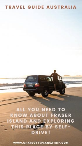 All you need to know about a self-drive 4wd adventure exploring the beautiful Fraser Island in Australia! Including handy map, tips and costs overview!