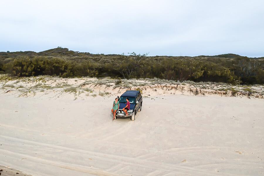 Relaxing on Fraser Island