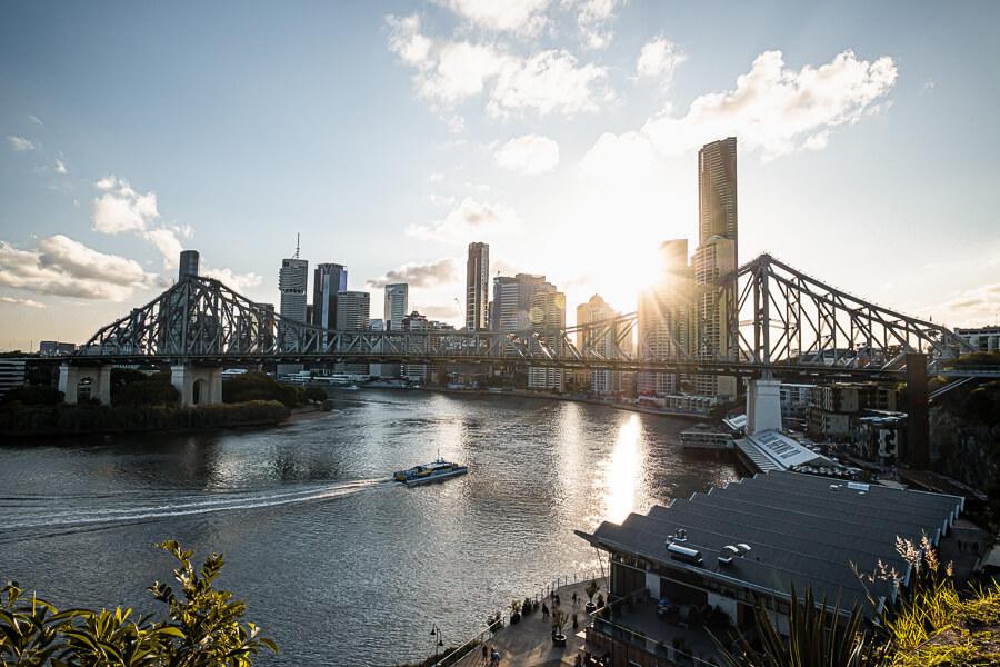 Skyline Brisbane travel guide Brisbane