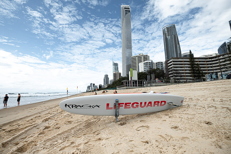 Surfers Paradise and lifeguard for the gold coast