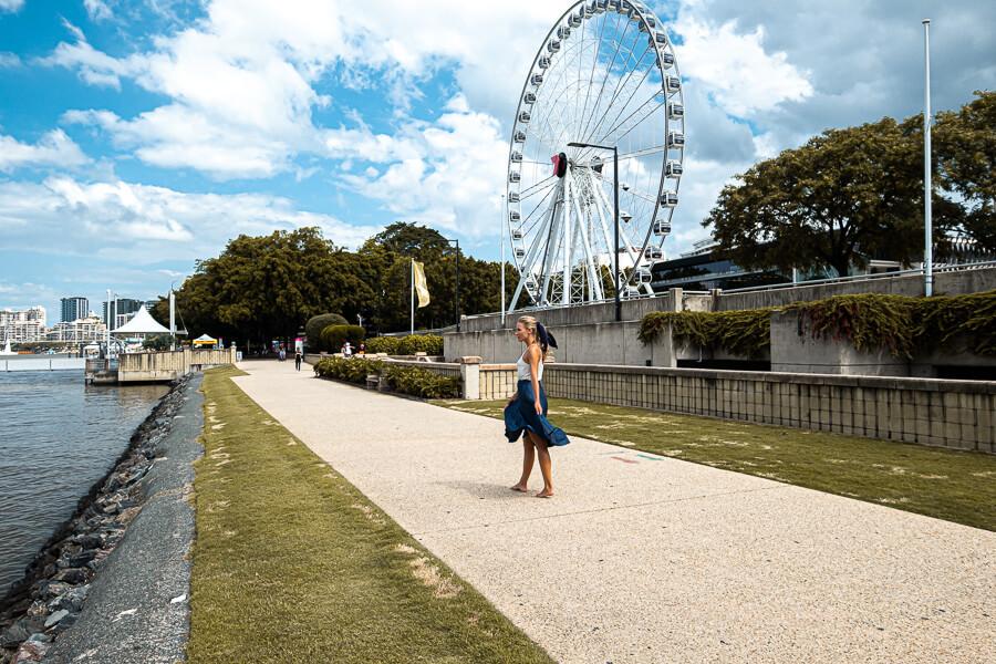 Travel Guide Brisbane Ferris Wheel South Bank