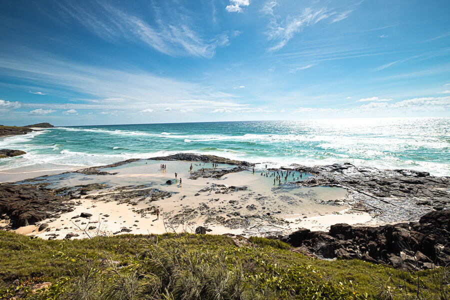 Travel Guide Fraser Island Best things to do Champange pools