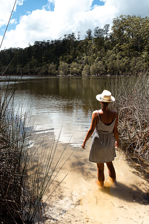 Travel Guide Fraser Island Lake Allom