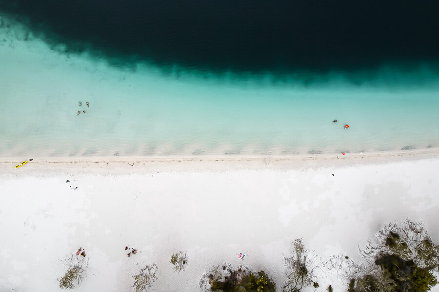 Travel Guide Fraser best lakes on the island Lake McKenzie
