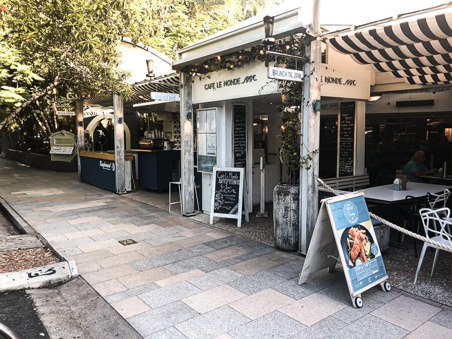 Travel Guide Noosa Cafe LE Monde 2