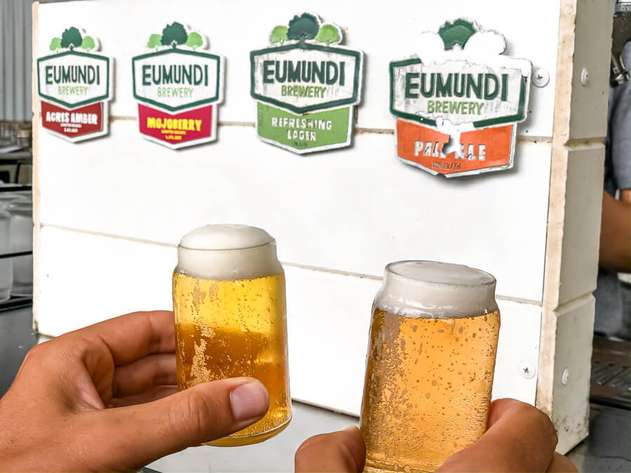 Travel Guide Noosa activities to do Eumundi Brewery tour