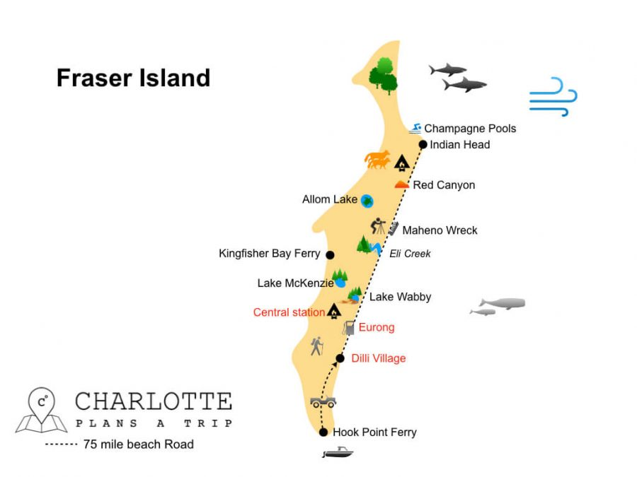 Travel Guide to Fraser Island Top attractions to do on Fraser.001
