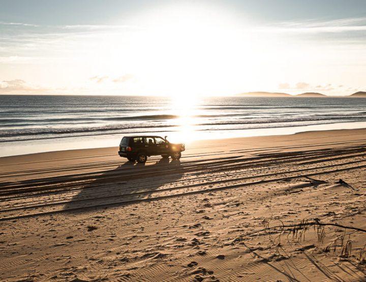 Fraser Island in Australië: alles dat je moet weten over 4x4 rijden op Fraser!