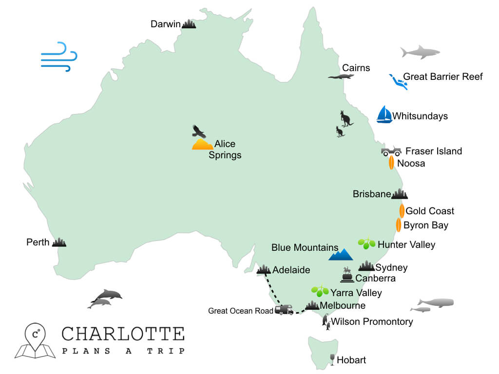Itineraries East Coast Australia Best Road Trips For 2 To 6 Weeks Traveling