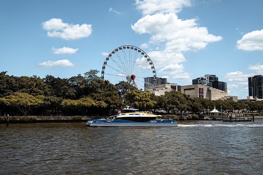 Travel guide Brisbane transport City Cat