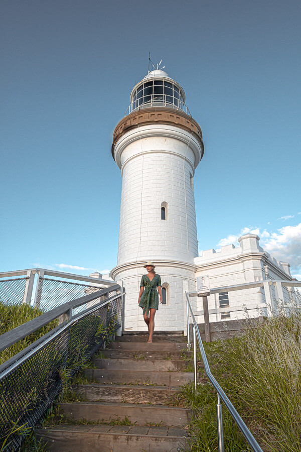 Travel guide Gold Coast lighthouse at Byron Bay
