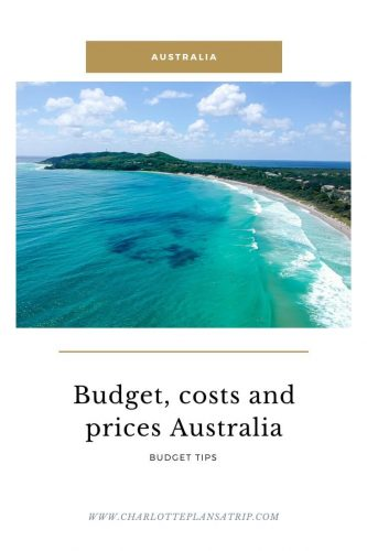 budget, prices and costs of a backpacking trip through Australia