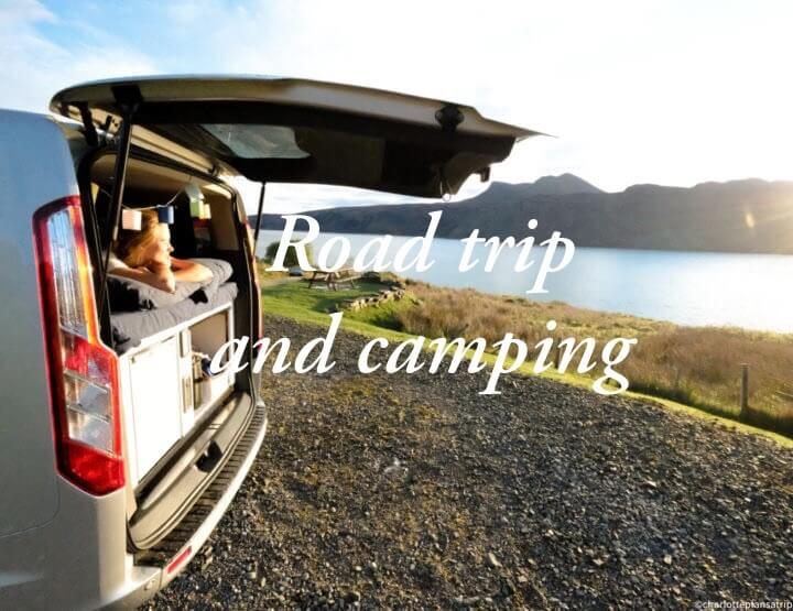 All about camping in Scotland and a road trip through the Scottish Highlands!