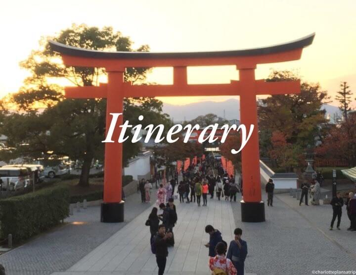 The ultimate itinerary for a three-week backpacking trip to Japan!