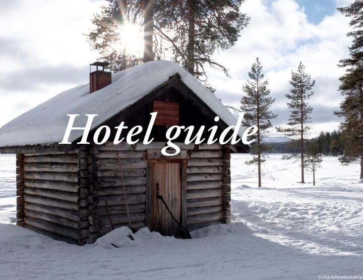 Hotels Lapland: unique accommodations in Finland in Lapland!