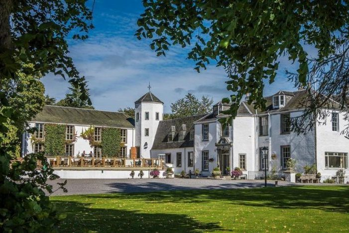 Best castles of Scotland Banchory Lodge Hotel close to Aberdeen