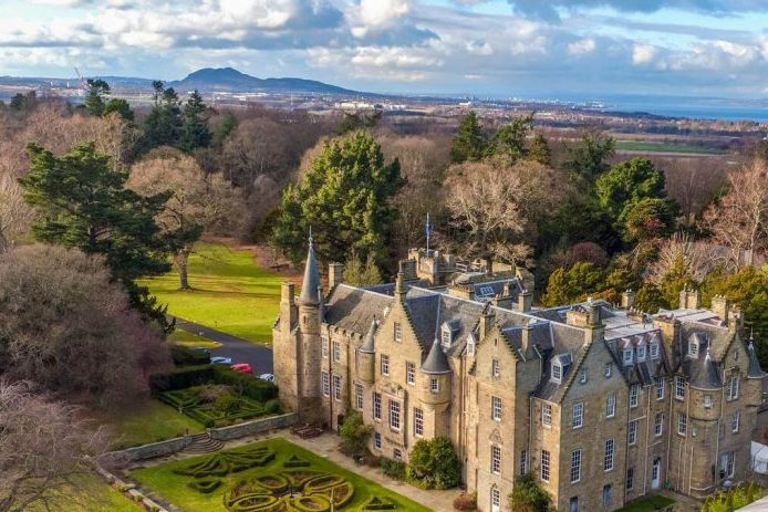 Best castles of Scotland Carberry Tower Mansion House and Estate Edinburgh