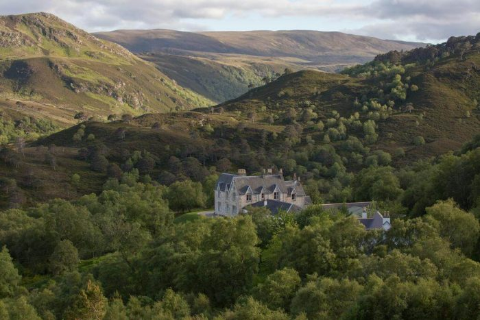 Best remote hotels of Scotland Alledale wilderness Reserve