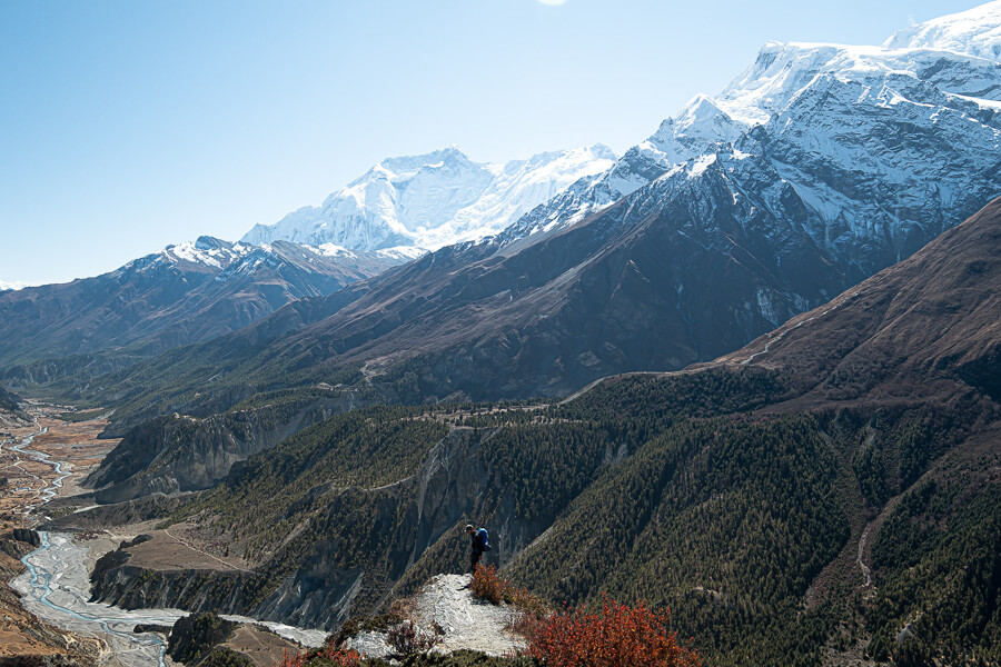 Best viewpoint of Annapurna Circuit Nepal