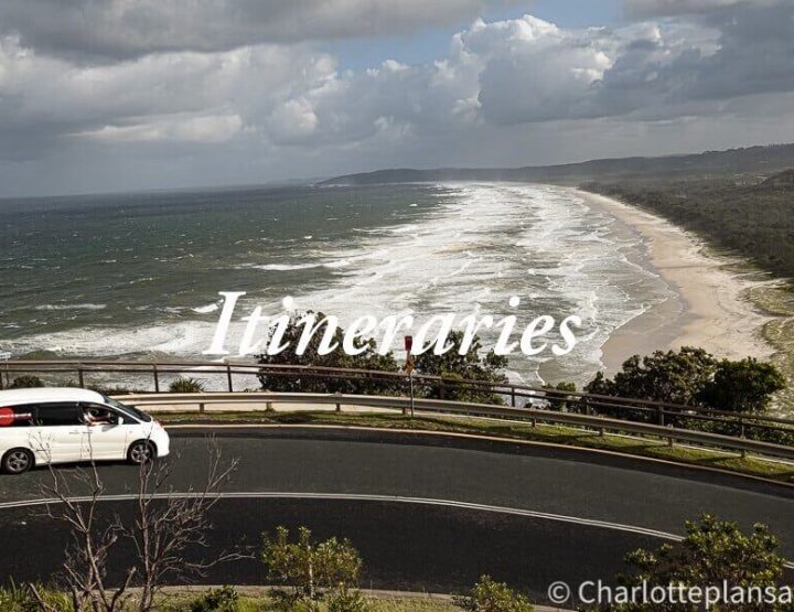 Itineraries East Coast Australia: Ultimate road trips for 2 to 6 weeks traveling along the coast!