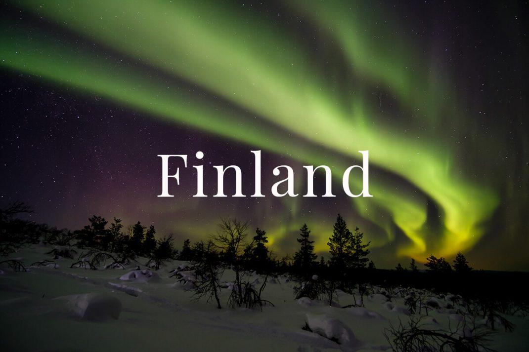 Finland Charlotte Plans a Trip