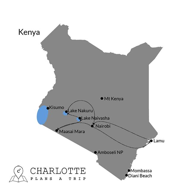 Itinerary Kenya road trip