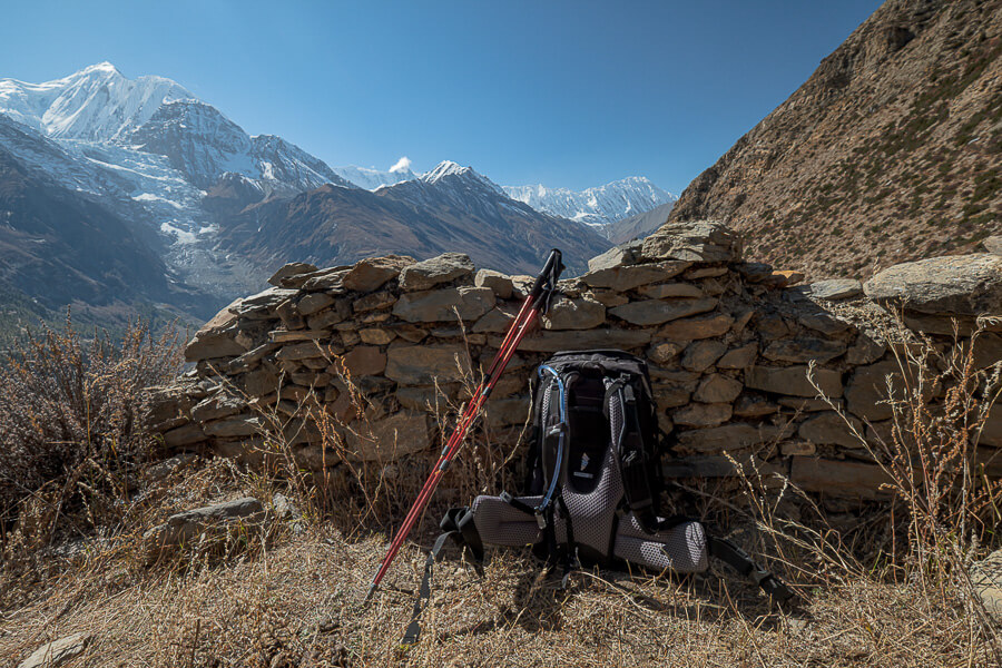 Packing list Nepal Annapurna Circuit Nepal