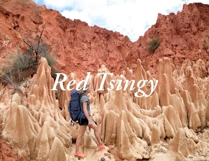 A must-do in northern Madagascar: visit the Red Tsingy