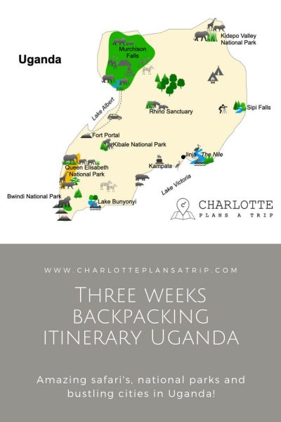 The ultimate three week itinerary for backpacking in Uganda