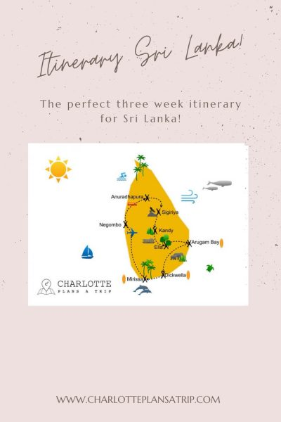 the ultimate three week itinerary for Sri Lanka Backpacking tips and hotels tips for Sri Lanka
