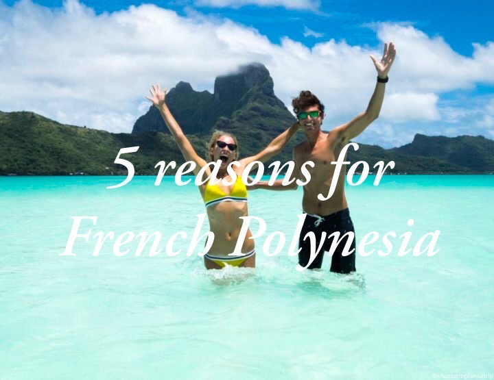 Five reasons why you definitely must visit French Polynesia!