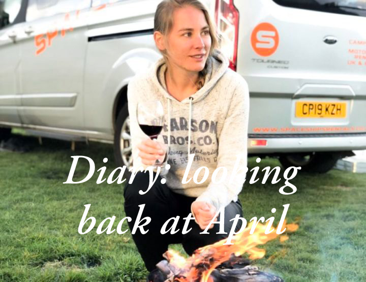 Diary: looking back on April!