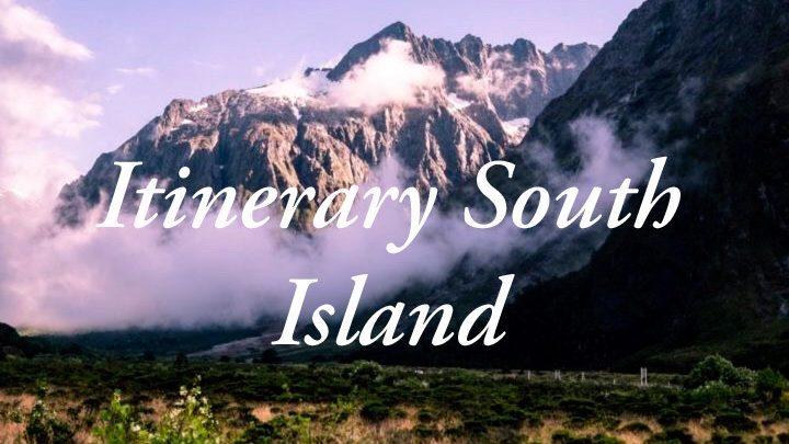 De ultieme reisroute voor drie weken op het Zuidereiland van Nieuw-Zeeland