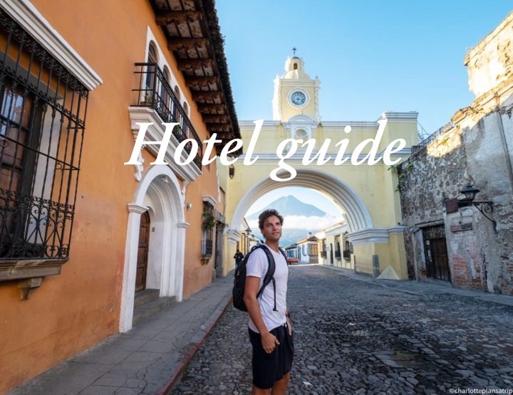 Hotel guide Guatemala: the best, coolest and hippest accommodations in Guatemala!